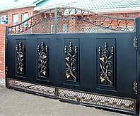 Искусные кованые ворота Херсон  заказ, покупка