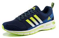 Кроссовки мужские Adidas Boost 2015 blue-green, фото 1