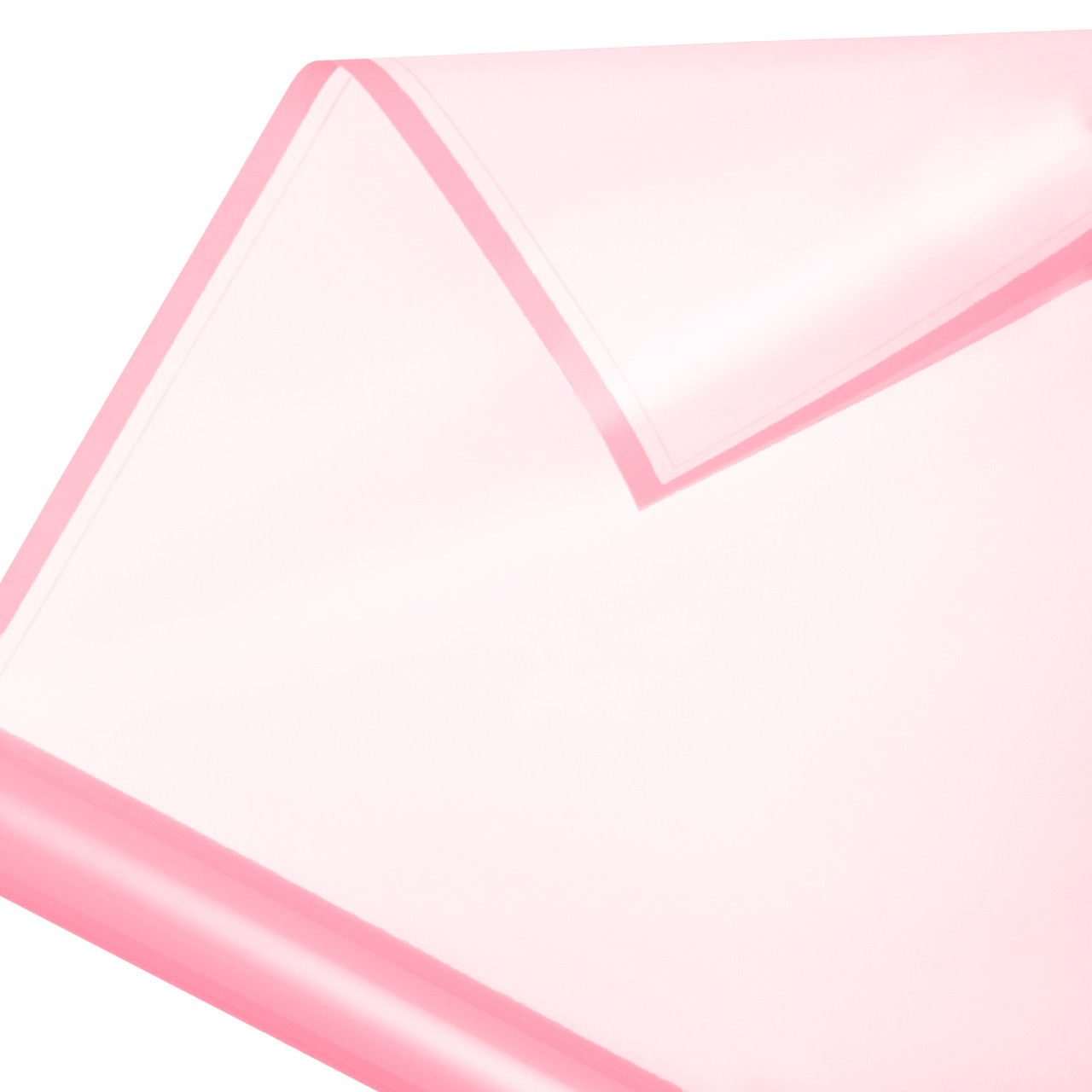 Калька в рулоні матовий кант 04 рожева 60*60 см