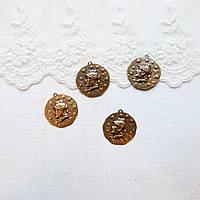 """Латунный штамп """"Римские Монеты""""  23 мм  БРОНЗА"""