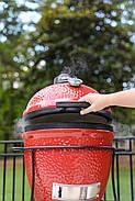 Вугільний гриль Kamado Joe Jr. Red, фото 8