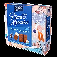 Конфеты птичье молоко Ptasie mleczko 360г в молочном шоколаде со сливочным ароматом TM Wedel