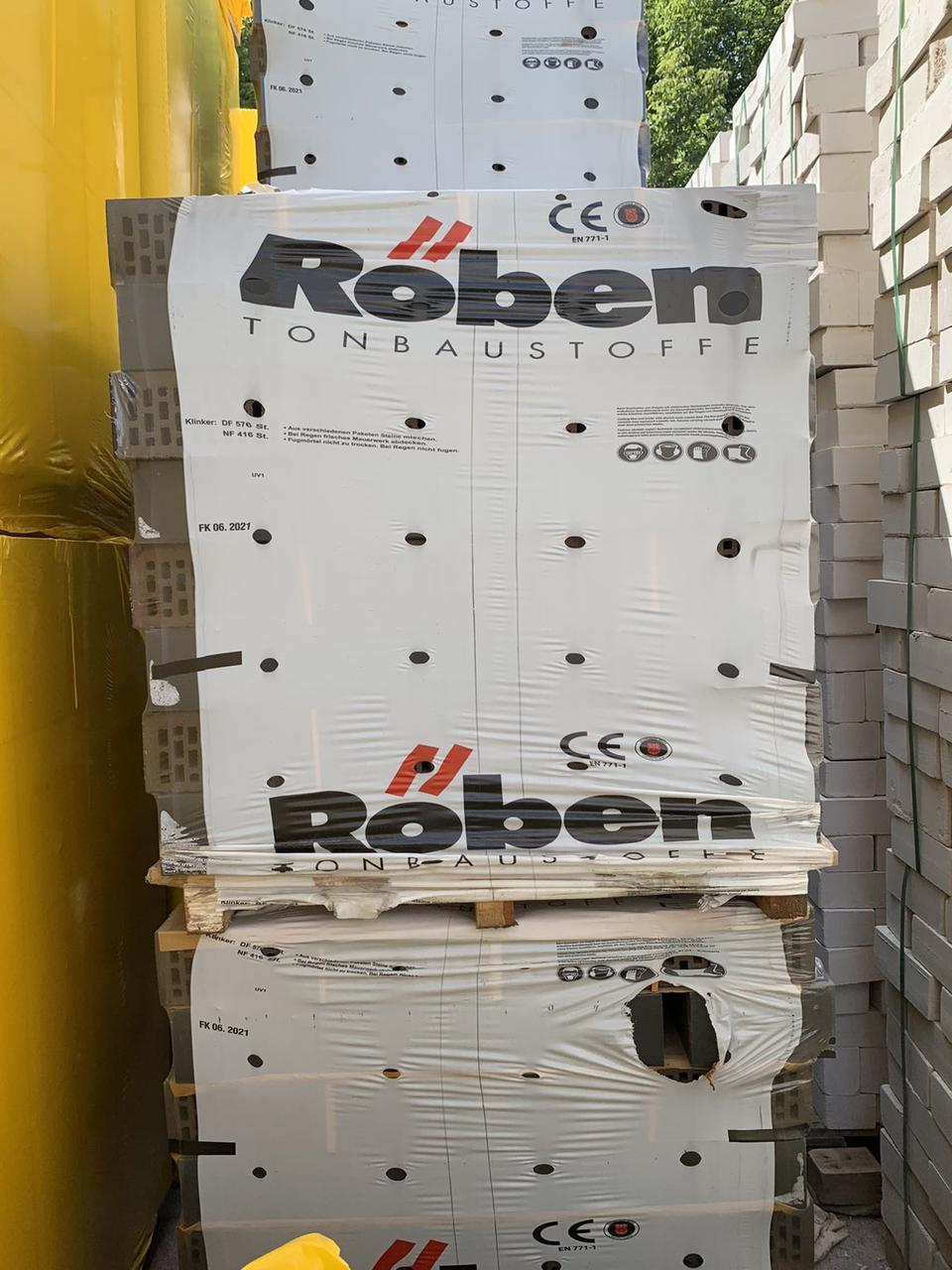 Клинкерный кирпич Roben Portland NF10