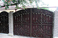 Недорого! Кованые ворота под заказ в Херсоне