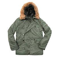 Куртка зимняя мужская Аляска N-3B Parka (Альфа индастриз) парка, фото 1