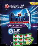 Таблетки д/миття посуду в посудомийній машини FINISH Quantum max Apple 60 шт