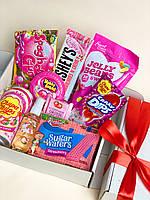 Подарунковий Рожевий набір солодощів Pink Boxing