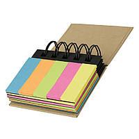 Стикеры разных цветов, разноцветные листы с клеевой полосой