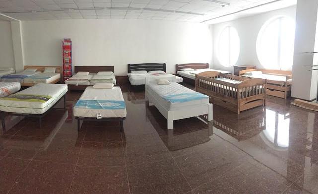 Выставочный зал ортопедических матрасов в Киеве.