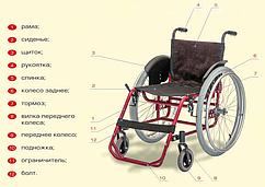 Крісло-коляска модель 172