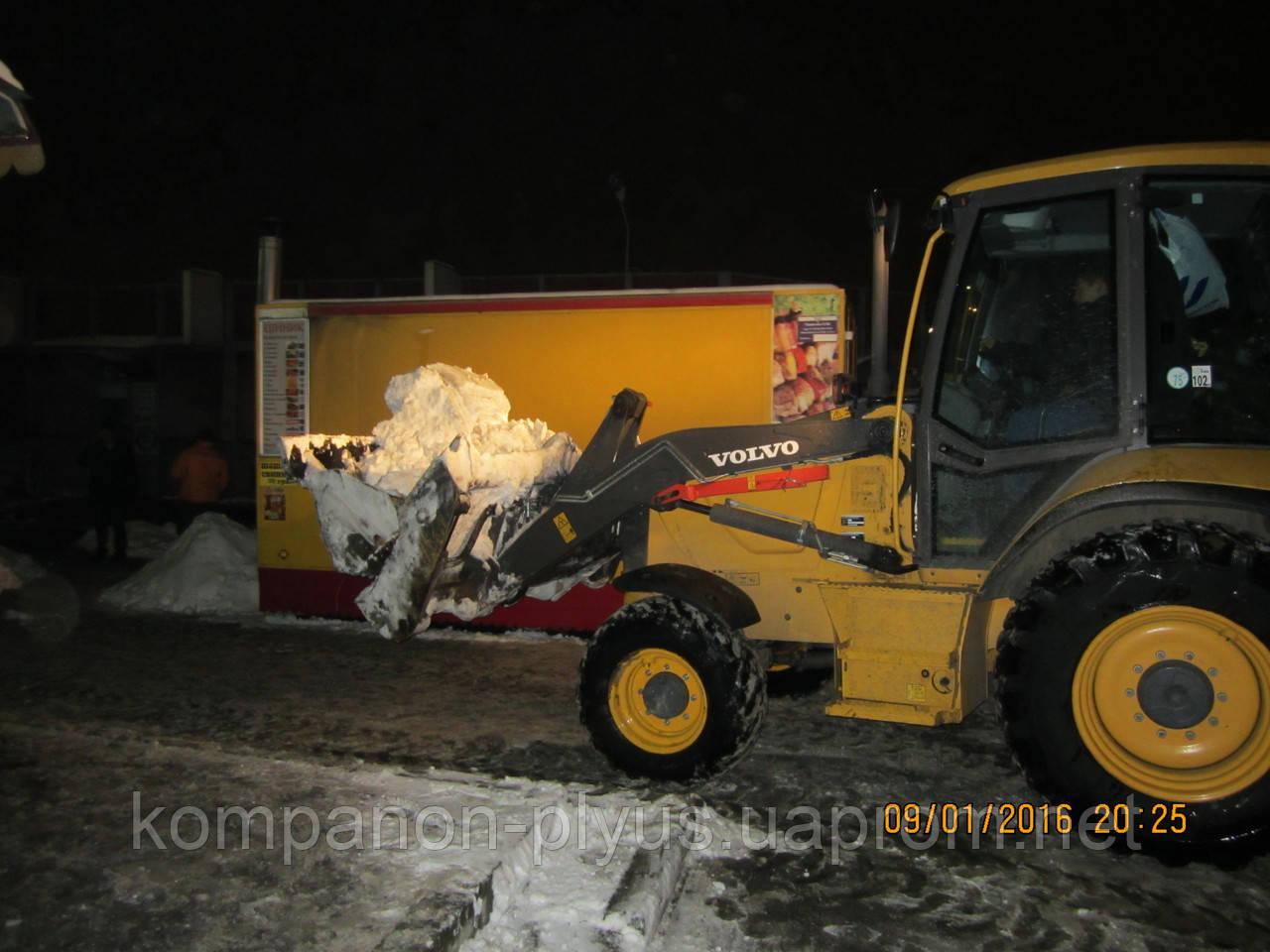 Прибирання снігу. Вартість прибирання снігу в Києві