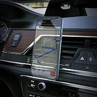 Автодержатель телефона Hoco S49 автомобильный держатель в авто. Магнитный холдер для телефона в машину