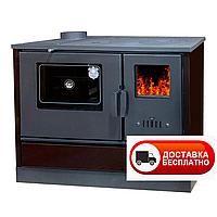 Чугунная печь для дома DUVAL ЕК-4020 с духовкой
