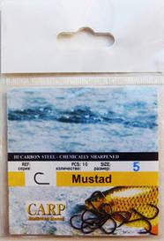 Рыболовные крючки Mustad №6