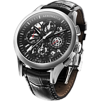 Льотний годинник Aerowatch Les Grandes Classiques Semi-skeletonised chronograph auto 61968AA05SQ