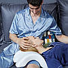 Ортопедическая подушка туннель с эффектом памяти Memory Pillow белая  (RZ668), фото 3