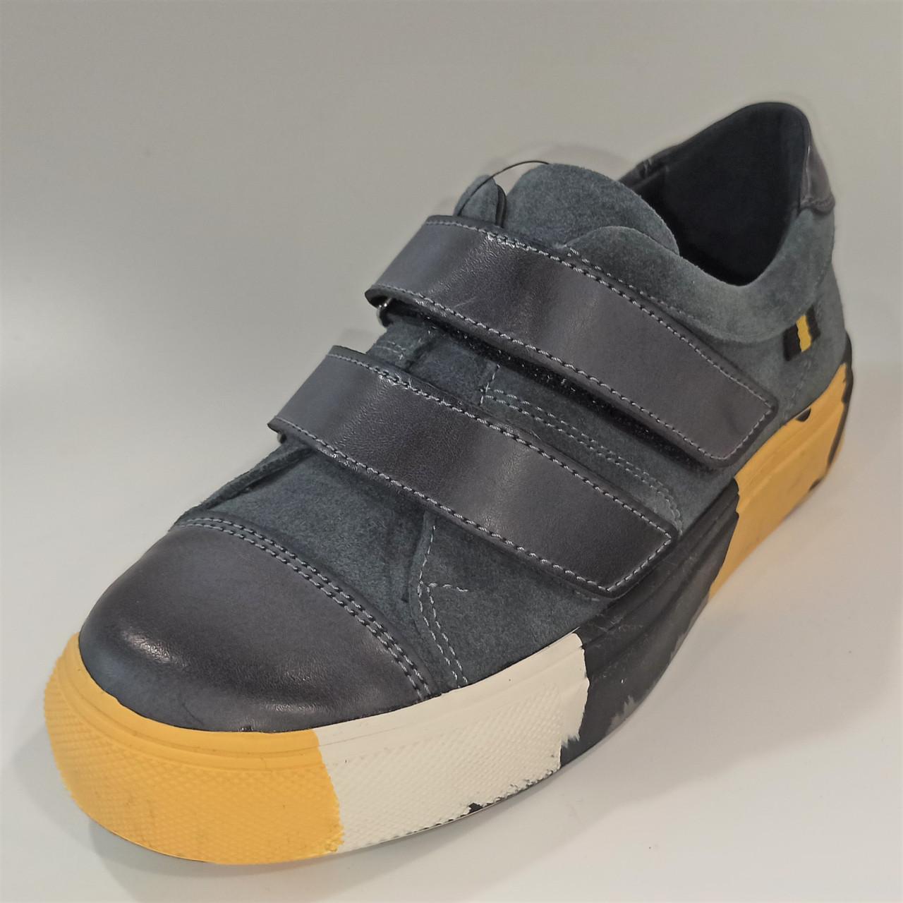 Шкіряні спортивні туфлі, Tobi (код 1270) розміри: 34-35