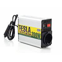 Преобразователь напряжения  12V-220V/200W  Tesla ПН-22200