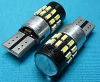 Светодиодные лампочки Т10 для автомобиля W5W 30 smd с обманкой