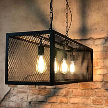 Светильник подвесной из металла GoodsMetall в стиле Лофт 950х250х250 СК40