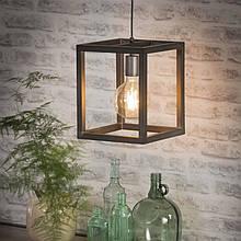 Светильник подвесной из металла GoodsMetall в стиле Лофт 300х250х250 СК43