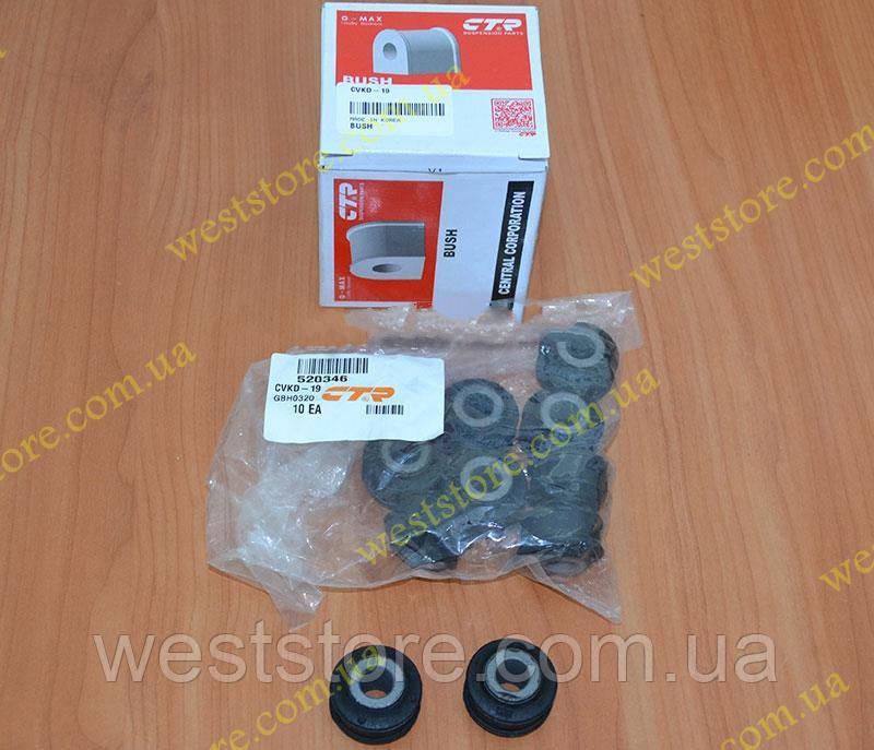 Сайлентблок (втулка) рульової рейки Ланос Сенс Нексія Lanos Sens Ваз 2110 CTR CVKD-19\ 750870