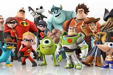 Игрушки с героями мультфильмов