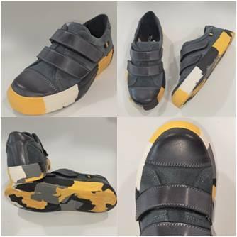Шкіряні спортивні туфлі на хлопчиків Tobi фото
