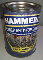 """ЛКМ спец назначения - Молотковая эмаль """"HAMMERIT""""(можно наносить на ржавчину)."""