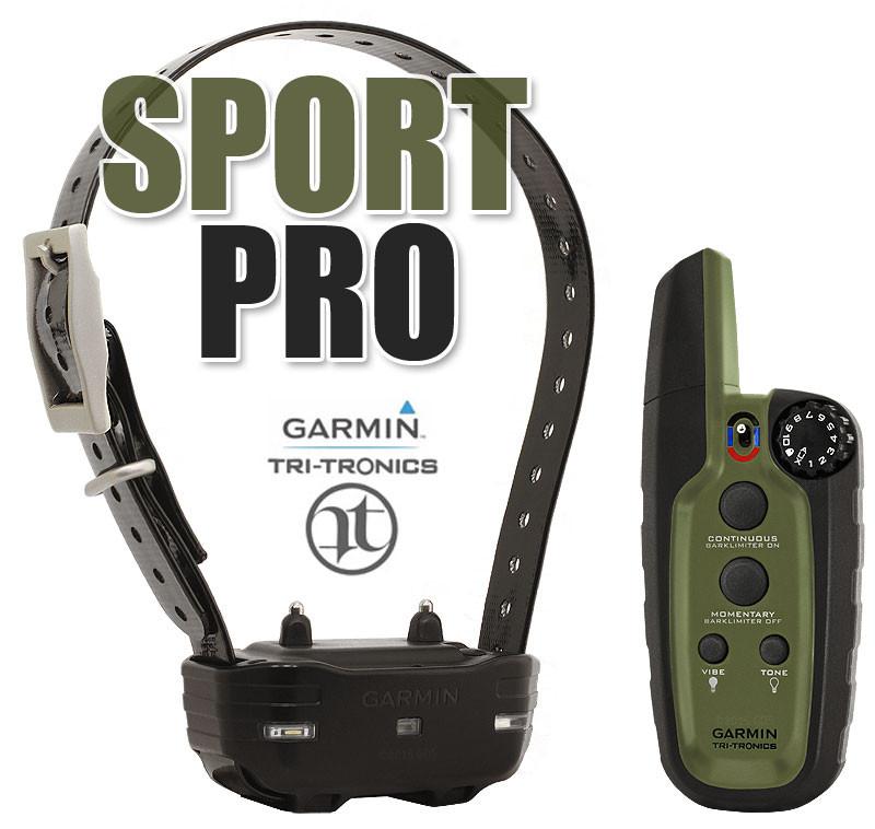 Garmin Sport PRO - Электронный ошейник для собак с функцией контроля лая