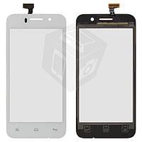 Touchscreen (сенсорный экран) для Fly IQ446 Magic, оригинал (белый)