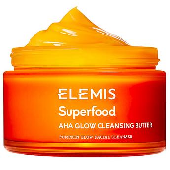 Бальзам-баттер для очищения кожи с энзимами и кислотами Elemis Superfood AHA Glow Cleansing Butter 90 мл