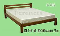 Кровать из дерева Л-205 купить в Одессе