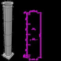 Колонна К-8, фото 1