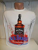 Футболка длинный рукав  ENISTE, Jack Daniel's 004
