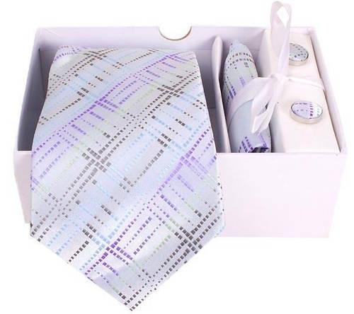 Презентабельный подарочный комплект для мужчин ETERNO (ЭТЕРНО) EG501 белый