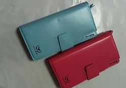 Гаманець жіночий Wallerry 1503 (СКЛАД-рожевий.блакитний)