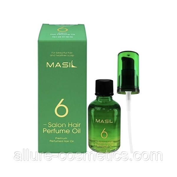 Парфюмированное масло для волос MASIL 6 Salon Hair Perfume Oil 50ml