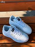 Стильні кросівки /кеди жіночі білі натуральна шкіра з перфорацією, фото 2