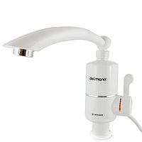 Электрический проточный кран водонагреватель для кухни с нижним подключением