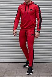 Спортивний чоловічий літній костюм Venum ( Венум), Червоний