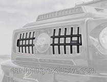 LUMMA h-bar set for front grill for Mercedes G-class W463A