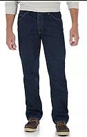 WRANGLER Regular Fit W34xL32 джинсы классика оригинал из США Five Star Premium тёмно синие Midnight Rinse