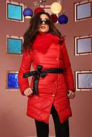 Куртка женская с искусственным мехом P517, фото 1