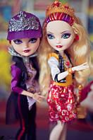 Apple White and Raven Queen School Spirit  Набор кукол Эвер Афтер Хай Эпл Вайт и Рейвен Квин Школьный дух