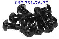 Винт М3 ГОСТ 28963-91, DIN 7380, ISO 7380 с полукруглой головкой, класс прочности 10.9