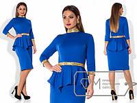 Женское платье батал (Х3282-2)