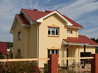 Отделка фасада частного дома, фото 1