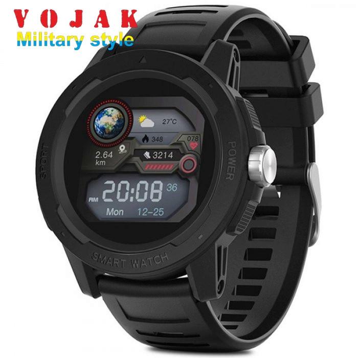 Смарт часы NORTH EDGE SMART MERCURIO BLACK