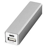 Зарядное устройство портативное, емкость 2600 мА/ч, USB кабель
